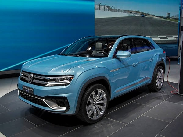 Volkswagen Cross Coupe Gte Mid Size Suv Of Tomorrow