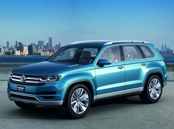 Volkswagen Will Add A New 7 Penger Suv To Its Lineup Vehicle Built In America At Chattanooga Tennessee Embly Facility Starting Late 2016