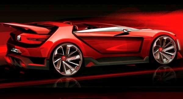 Volkswagen Golf GTI Roadster Vision Gran Turismo teased - Kelley Blue Book
