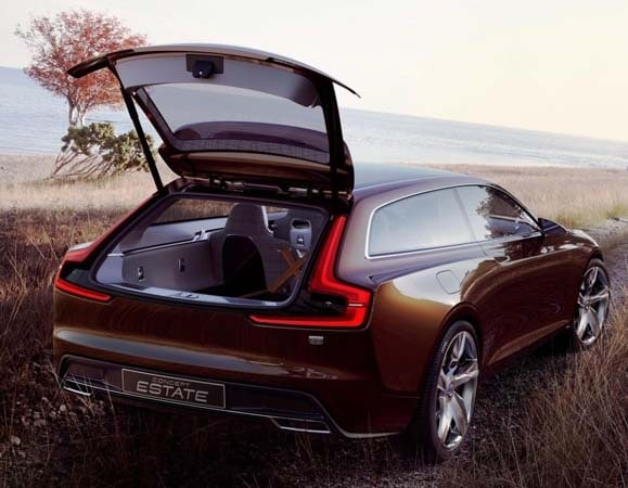 Volvo Concept Estate showcases intuitive new interface 28