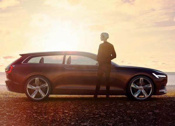 Volvo Concept Estate showcases intuitive new interface 29