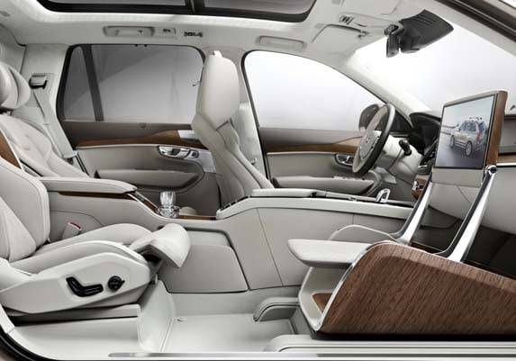 Volvo XC90 Excellence Lounge Console Concept unveiled ...