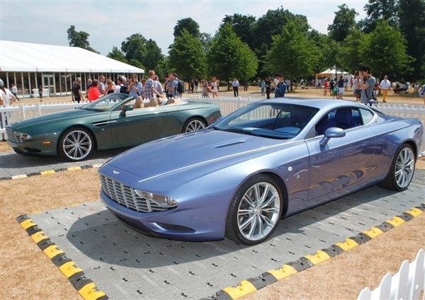 Zagato shows two new Aston Martin Centennial Concept cars ...