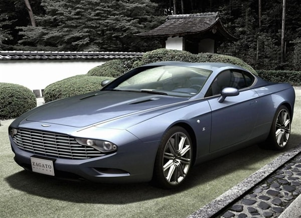 Zagato Shows Two New Aston Martin Centennial Concept Cars