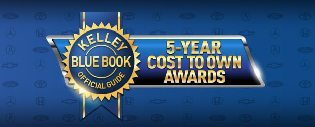 Kelley Blue Book Best Cars 2020 2019 5 Year Cost to Own Awards | Kelley Blue Book