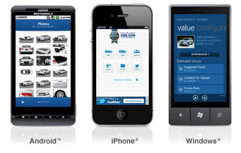 kbb mobile kelley blue book