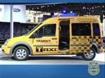 Ford Transit Connect Taxi Chicago Show Photo