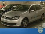 Volkswagen Golf blue-e-motion - LA Auto Show Photo