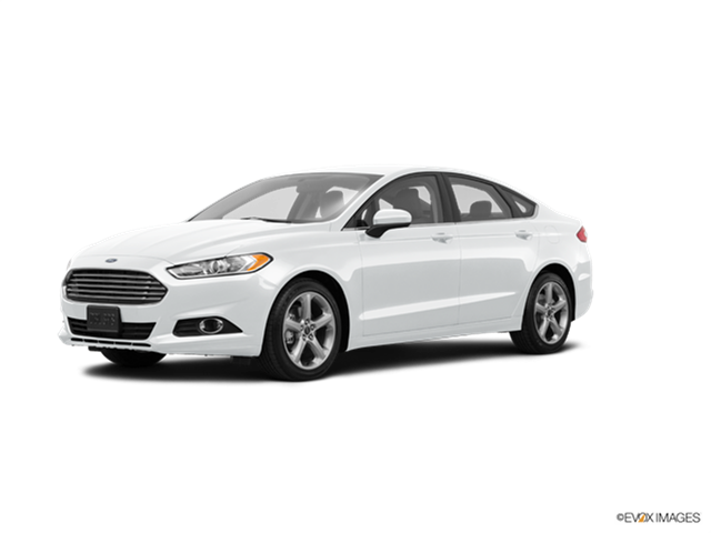 2016 Ford Fusion Kelley Blue Book