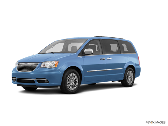 Most Popular Vans/Minivans of 2016 - 2016 Chrysler Town & Country