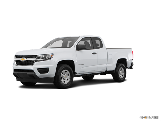 2018 Chevrolet Colorado Extended Cab