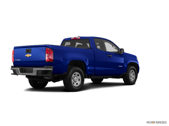 New Car 2017 Chevrolet Colorado Extended Cab Work Truck