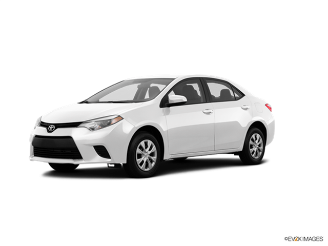 2016 Toyota Corolla Kelley Blue Book