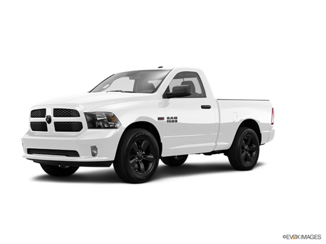 2016 Ram 1500 Regular Cab Kelley Blue Book