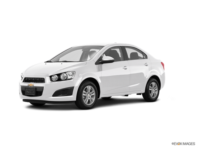 2016 Chevrolet Sonic Kelley Blue Book