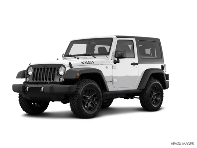 New Car 2017 Jeep Wrangler Willys Wheeler W