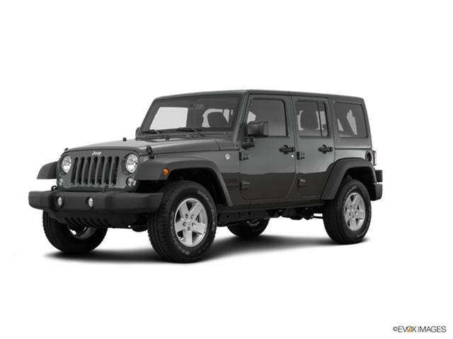 ... New Car 2017 Jeep Wrangler Unlimited Sport S