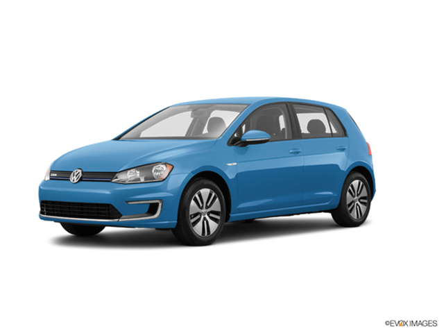 Most Fuel Efficient Hatchbacks of 2017 - 2017 Volkswagen e-Golf
