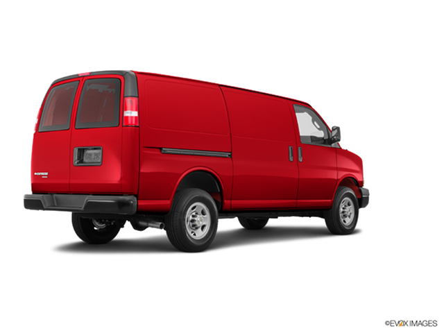 New Car 2018 Chevrolet Express 3500 Cargo Extended