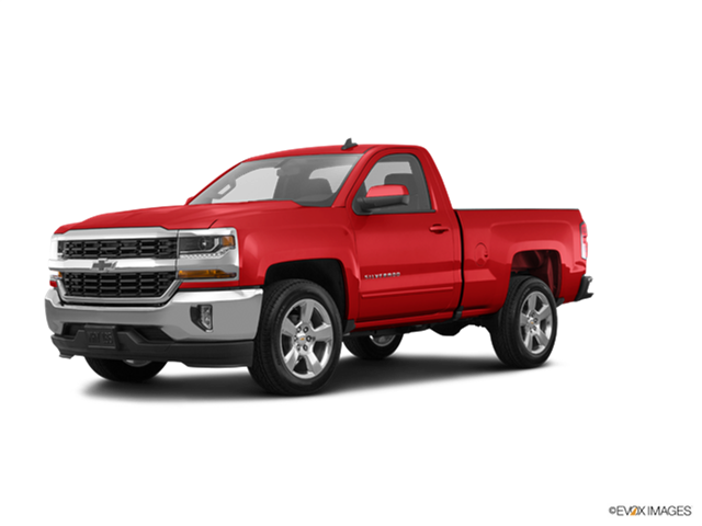 Most Popular Trucks of 2017 - 2017 Chevrolet Silverado 1500 Regular Cab