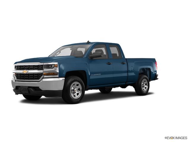 Best Safety Rated Trucks of 2017 - 2017 Chevrolet Silverado 1500 Double Cab