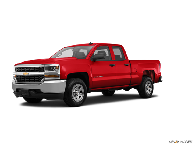 New Car 2018 Chevrolet Silverado 1500 Double Cab Work Truck