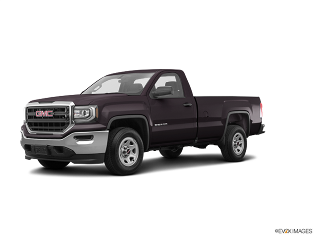 Best Safety Rated Trucks of 2016 - 2016 GMC Sierra 1500 Regular Cab