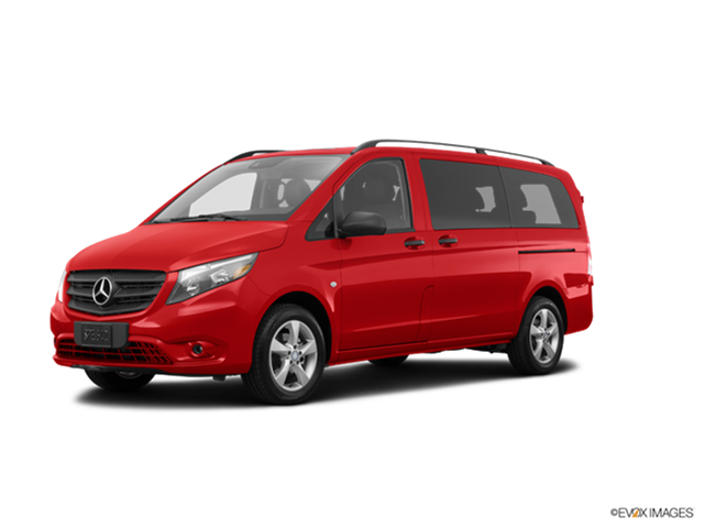 Most Fuel Efficient Vans/Minivans of 2017 - 2017 Mercedes-Benz Metris Passenger