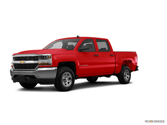 Best Safety Rated Trucks of 2018 - 2018 Chevrolet Silverado 1500 Crew Cab