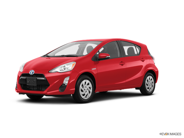 Most Popular Hybrids of 2017 - 2017 Toyota Prius c