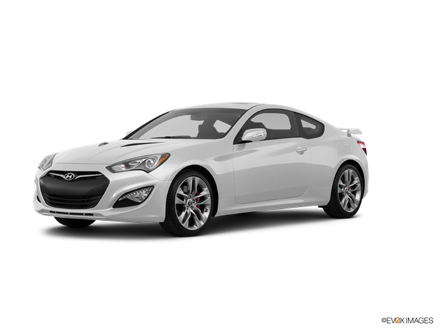 Genesis Coupe 2016 >> 2016 Hyundai Genesis Coupe Kelley Blue Book