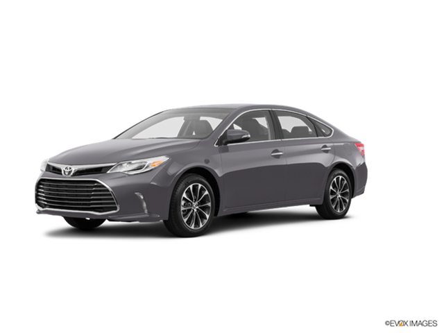 2016 Toyota Avalon Kelley Blue Book