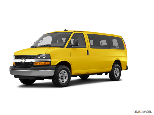 Most Popular Vans/Minivans of 2017 - 2017 Chevrolet Express 3500 Passenger