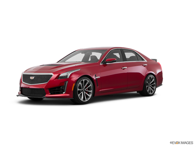 Highest Horsepower Luxury Vehicles of 2017 - 2017 Cadillac CTS-V