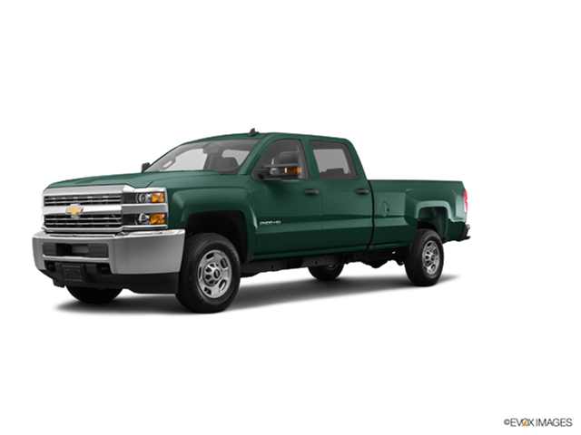 Best Safety Rated Trucks of 2016 - 2016 Chevrolet Silverado 2500 HD Crew Cab
