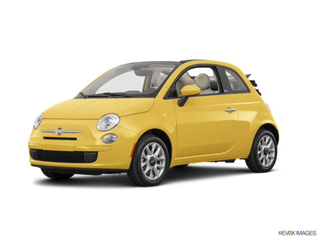 Most Popular Convertibles of 2017 - 2017 FIAT 500c
