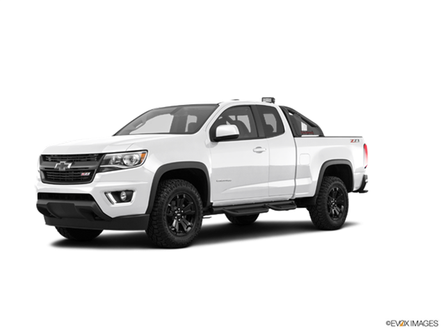 New Car 2017 Chevrolet Colorado Extended Cab Z71