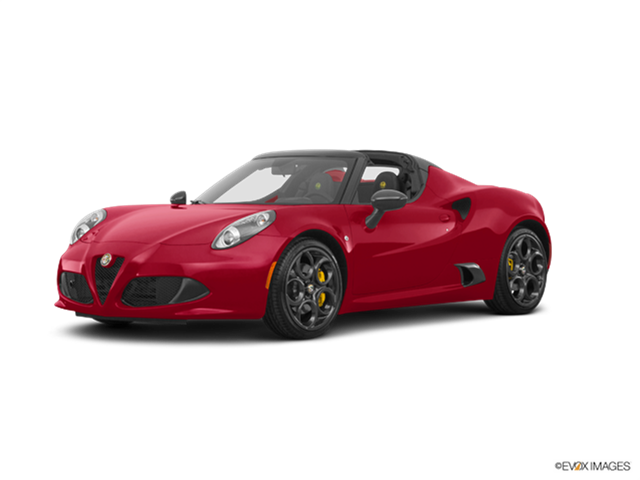 Top Consumer Rated Convertibles of 2016 - 2016 Alfa Romeo 4C Spider