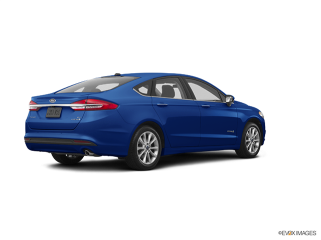 New Car 2017 Ford Fusion S Hybrid