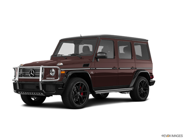 Highest Horsepower Luxury Vehicles of 2018 - 2018 Mercedes-Benz Mercedes-AMG G-Class