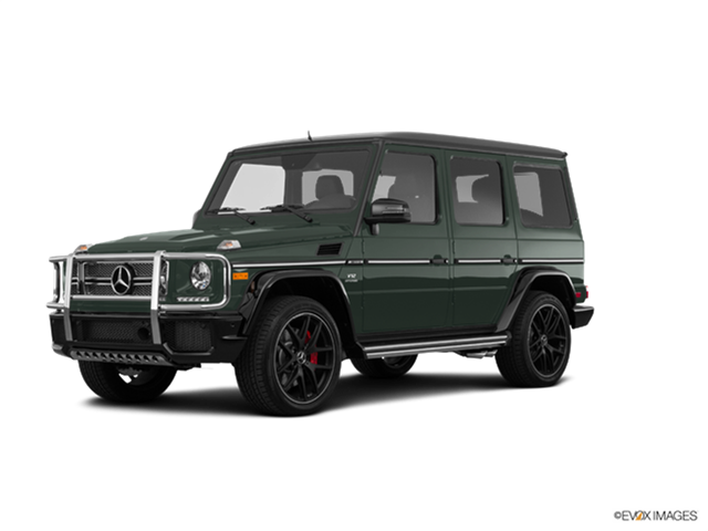 Highest Horsepower Luxury Vehicles of 2017 - 2017 Mercedes-Benz Mercedes-AMG G-Class