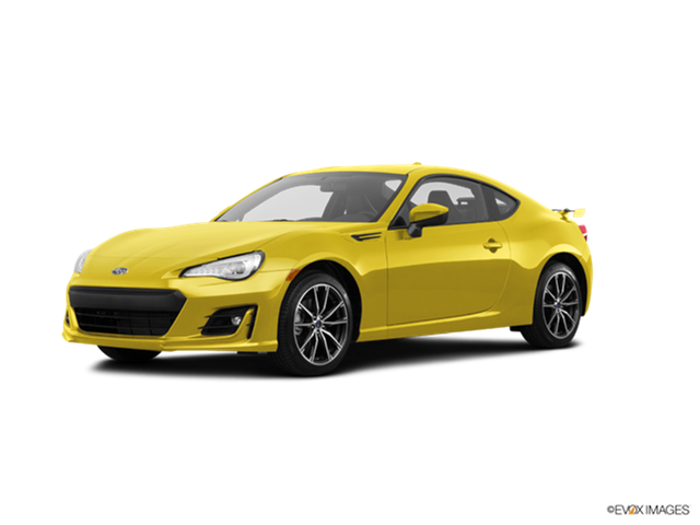 New Car 2017 Subaru BRZ Series.Yellow