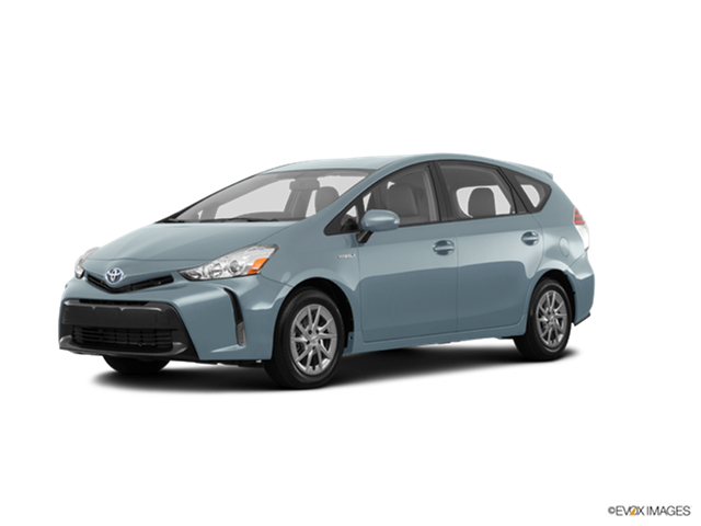 Most Fuel Efficient Wagons of 2017 - 2017 Toyota Prius v