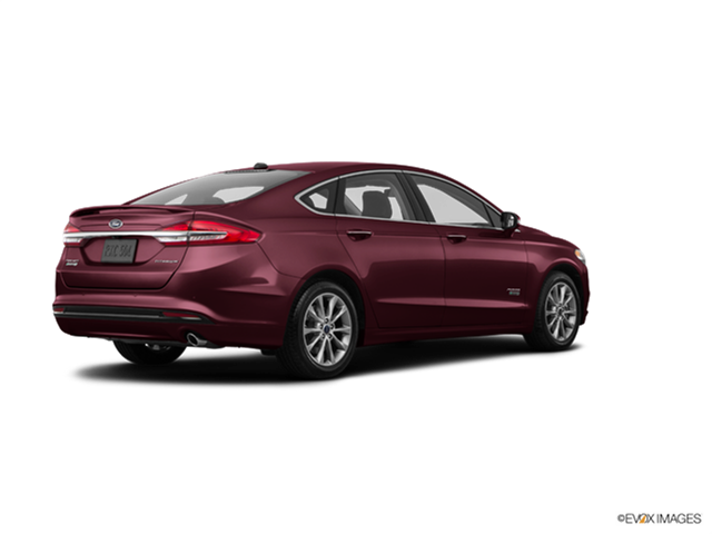 New Car 2018 Ford Fusion Energi Plug-In Hybrid Platinum