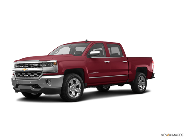 Best Safety Rated Trucks of 2017 - 2017 Chevrolet Silverado 1500 Crew Cab