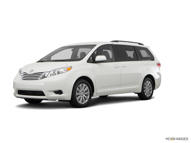 2017 toyota sienna - kelley blue book