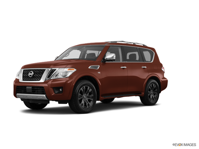 New Car 2017 Nissan Armada Platinum