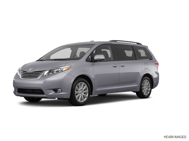 2017 toyota sienna limited premium new car prices kelley blue book. Black Bedroom Furniture Sets. Home Design Ideas