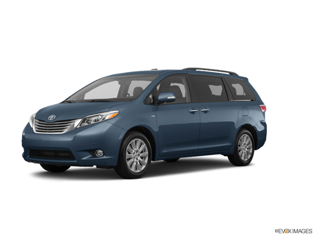 Most Fuel Efficient Vans/Minivans of 2017 - 2017 Toyota Sienna