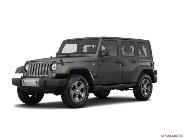 Most Popular SUVs of 2017 - 2017 Jeep Wrangler Unlimited